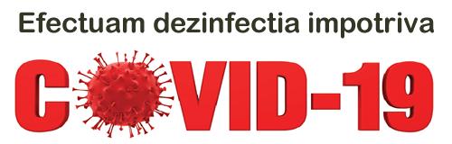 Efectuam dezinfectia impotriva Covid-19